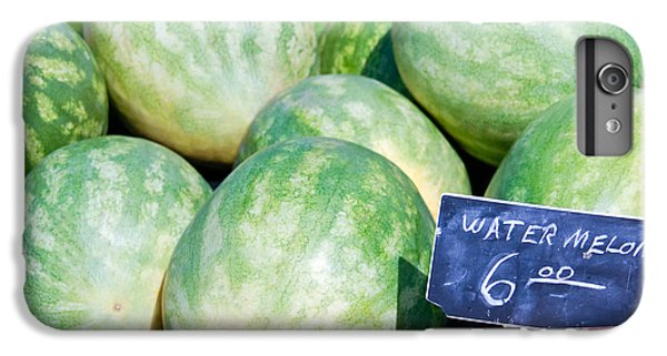Watermelons With A Price Sign IPhone 7 Plus Case by Paul Velgos