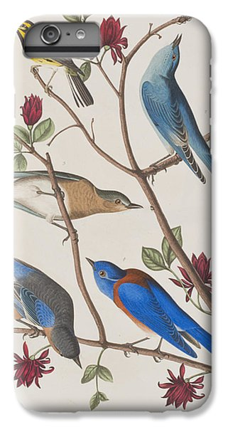 Bluebird iPhone 7 Plus Case - Western Blue-bird by John James Audubon