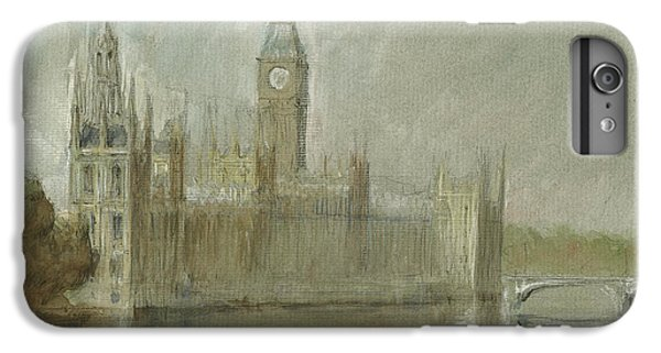 London iPhone 7 Plus Case - Westminster Palace And Big Ben London by Juan Bosco