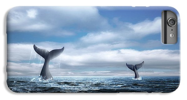 Marine iPhone 7 Plus Case - Whale Of A Tail by Tom Mc Nemar