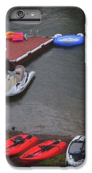 Jet Ski iPhone 7 Plus Case - When It Rains At The Lake by Skip Willits