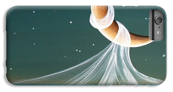 Moon iPhone 7 Plus Case - When The Wind Blows by Cindy Thornton