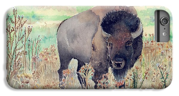 Where The Buffalo Roams IPhone 7 Plus Case by Arline Wagner