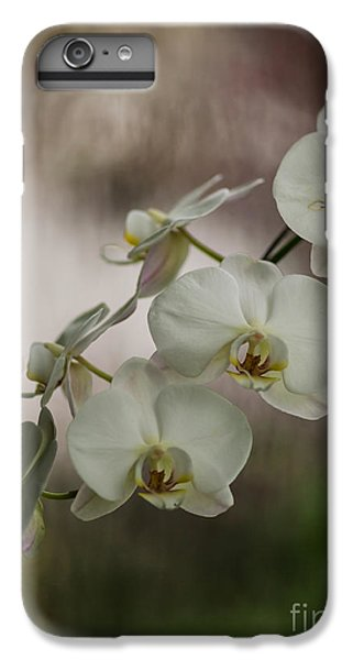 Orchid iPhone 7 Plus Case - White Of The Evening by Mike Reid