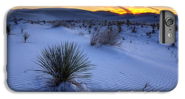 Desert iPhone 7 Plus Case - White Sands Sunset by Peter Tellone