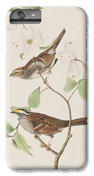 White Throated Sparrow IPhone 7 Plus Case by John James Audubon