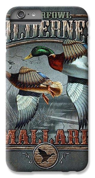 Duck iPhone 7 Plus Case - Wilderness Mallard by JQ Licensing