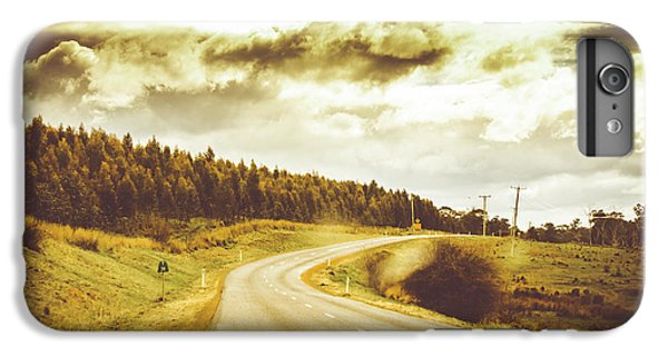 Window To A Rural Road IPhone 7 Plus Case by Jorgo Photography - Wall Art Gallery