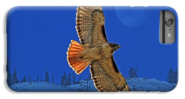 Hawk iPhone 7 Plus Case - Wings by Donna Kennedy