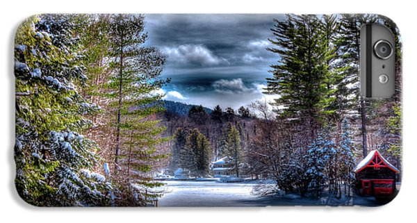IPhone 7 Plus Case featuring the photograph Winter At The Boathouse by David Patterson