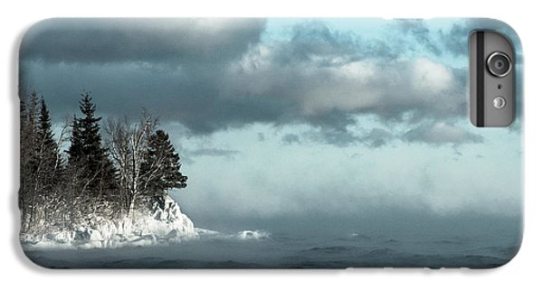 Lake Superior iPhone 7 Plus Case - Winter Blues by Mary Amerman