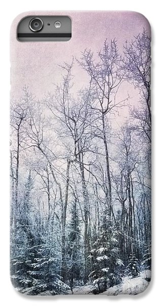 Landscapes iPhone 7 Plus Case - Winter Forest by Priska Wettstein