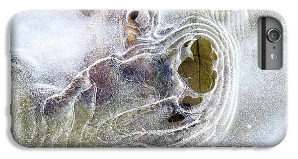 IPhone 7 Plus Case featuring the photograph Winter Ice by Christina Rollo