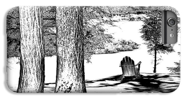 IPhone 7 Plus Case featuring the photograph Winter Shadows by David Patterson