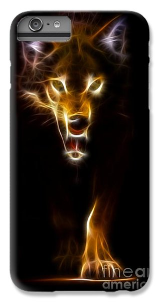 Wolf Ready To Attack IPhone 7 Plus Case by Pamela Johnson