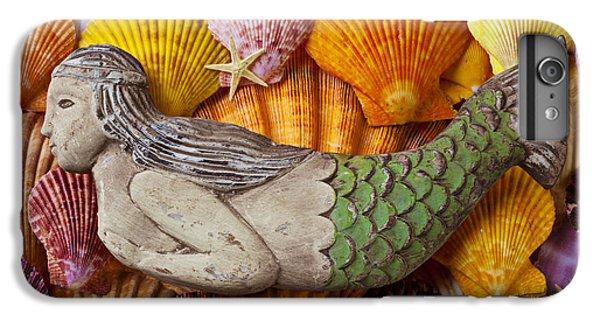 Wooden Mermaid IPhone 7 Plus Case by Garry Gay
