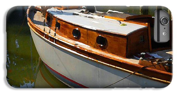 Shrimp Boats iPhone 7 Plus Case - Wooden Sailboat by Michael Thomas