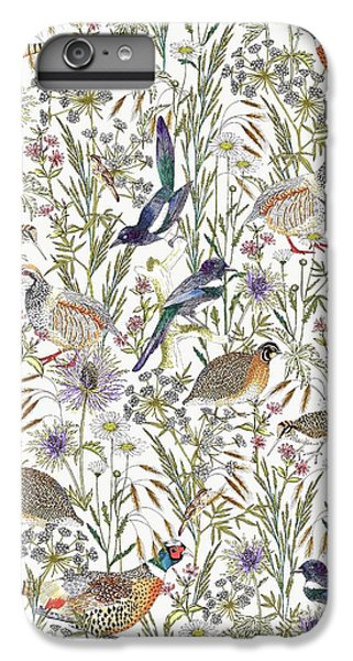 Woodland Edge Birds IPhone 7 Plus Case by Jacqueline Colley