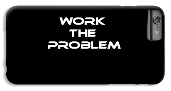 Space iPhone 7 Plus Case - Work The Problem The Martian Tee by Edward Fielding