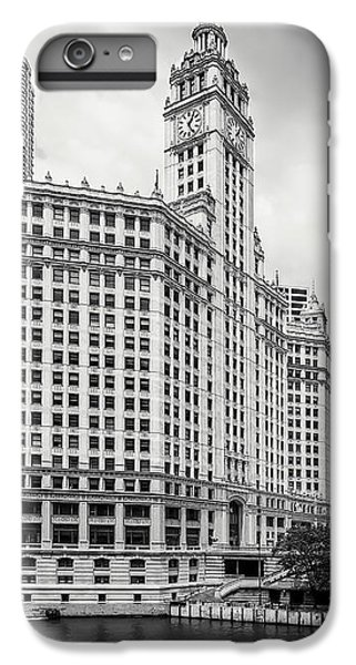IPhone 7 Plus Case featuring the photograph Wrigley Building Chicago by Adam Romanowicz