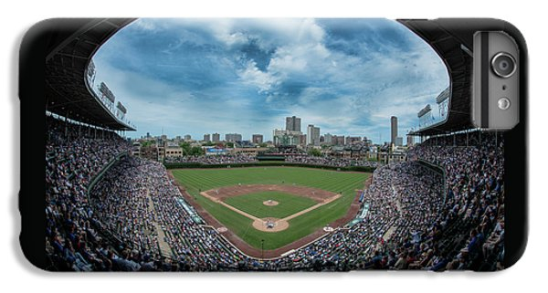 Wrigley Field iPhone 7 Plus Case - Wrigley Color by Greg Wyatt
