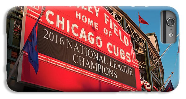 Wrigley Field Marquee Angle IPhone 7 Plus Case by Steve Gadomski