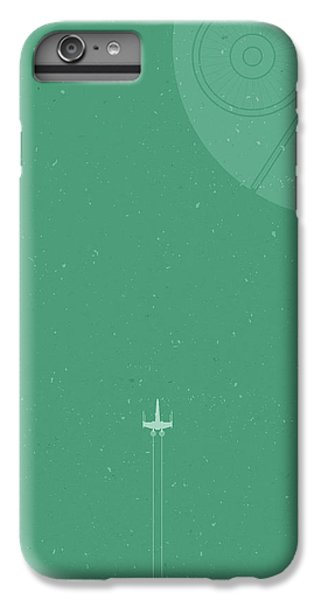 X-wing Meets Death Star IPhone 7 Plus Case