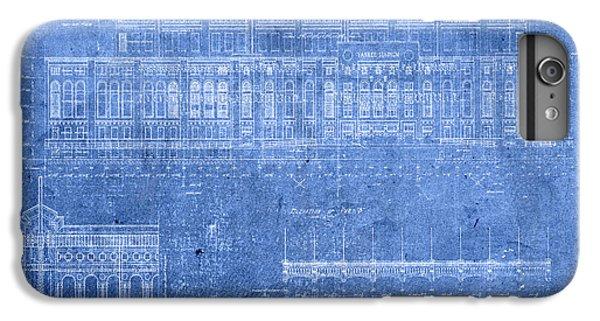 Yankee Stadium New York City Blueprints IPhone 7 Plus Case