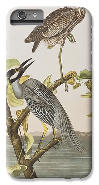 Yellow Crowned Heron IPhone 7 Plus Case by John James Audubon