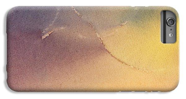 Yellow Orange Blue Watercolor Square Design 3 IPhone 7 Plus Case