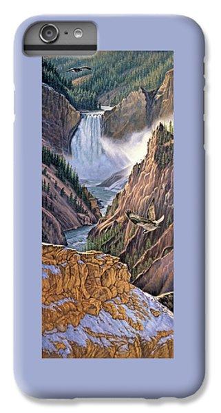 Osprey iPhone 7 Plus Case - Yellowstone Canyon-osprey by Paul Krapf