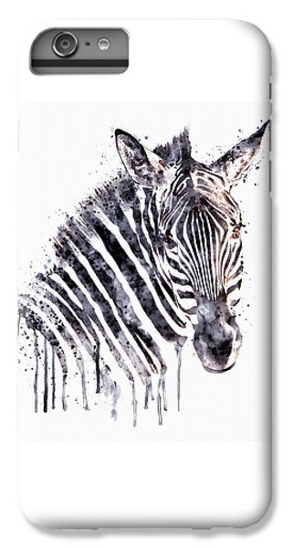 Zebra Head IPhone 7 Plus Case by Marian Voicu