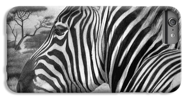 Zebra IPhone 7 Plus Case by Tim Dangaran