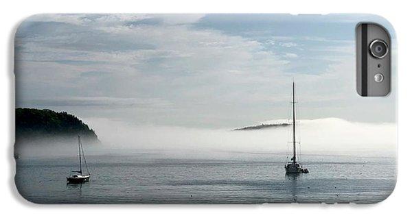 Dick Goodman iPhone 7 Plus Case - Morning Mist On Frenchman's Bay by Dick Goodman