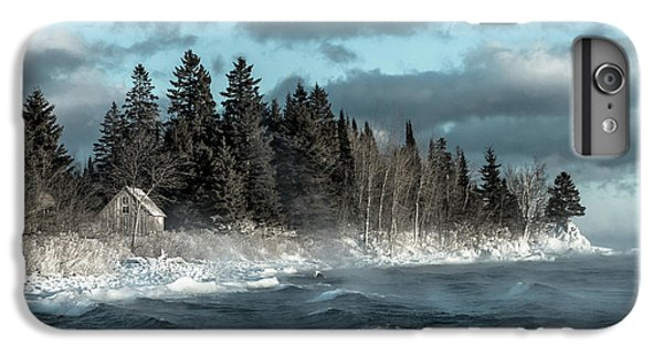 Lake Superior iPhone 7 Plus Case - Winter Blues II by Mary Amerman