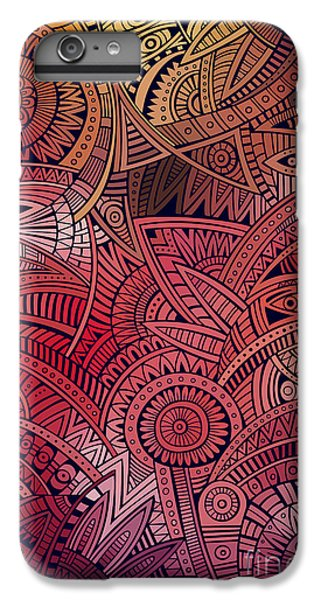 Craft iPhone 7 Plus Case - Abstract Vector Tribal Ethnic by Balabolka