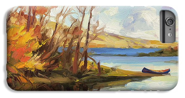 Boats iPhone 7 Plus Case - Banking On The Columbia by Steve Henderson