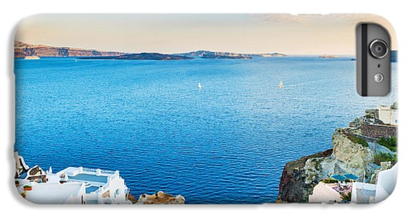 Ship iPhone 7 Plus Case - Beautiful View Of The Sea And Islands by Olga Gavrilova