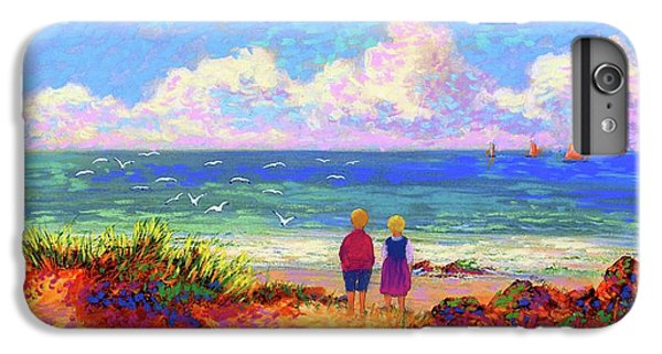 Figurative iPhone 7 Plus Case - Children Of The Sea by Jane Small