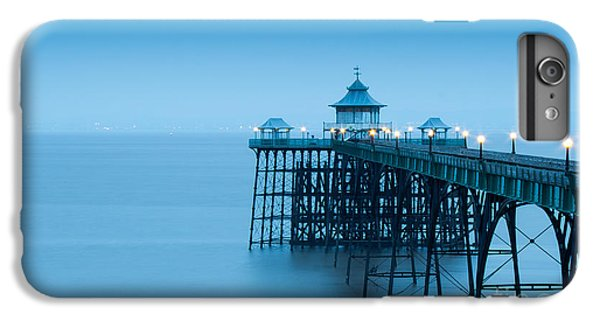 England iPhone 7 Plus Case - Cleve Don Pier, Early Morning by Edmond Holland