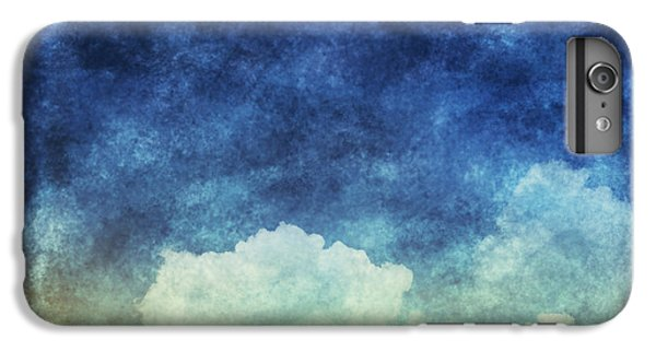 Craft iPhone 7 Plus Case - Cloud And Sky At Night ,yellow And Blue by Mr.lightman1975