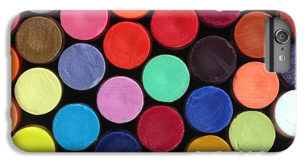 Craft iPhone 7 Plus Case - Colorful Wax Crayon Pencils For School by Kreativkolors
