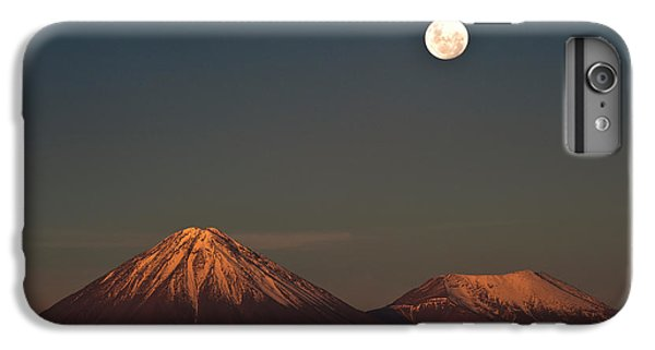 The Moon iPhone 7 Plus Case - Full-moon In The Moon Valley. Volcanoes by Ksenia Ragozina