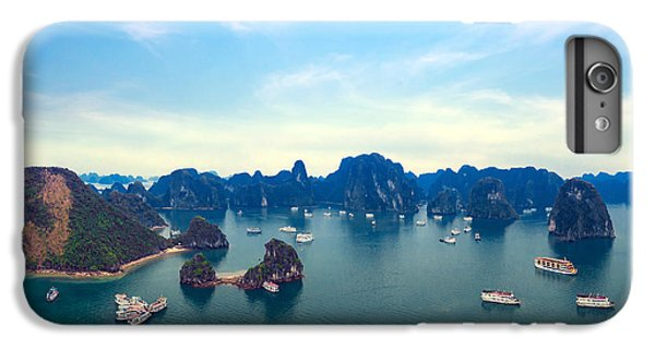 Ship iPhone 7 Plus Case - Halong Bay Panorama In Vietnam by Banana Republic Images