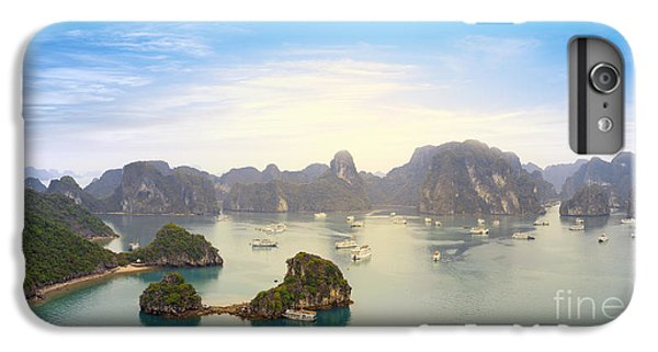 Ship iPhone 7 Plus Case - Halong Bay Vietnam Panoramic Sea View by Banana Republic Images