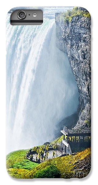 Ship iPhone 7 Plus Case - Horseshoe Fall, Niagara Falls, Ontario by Javen