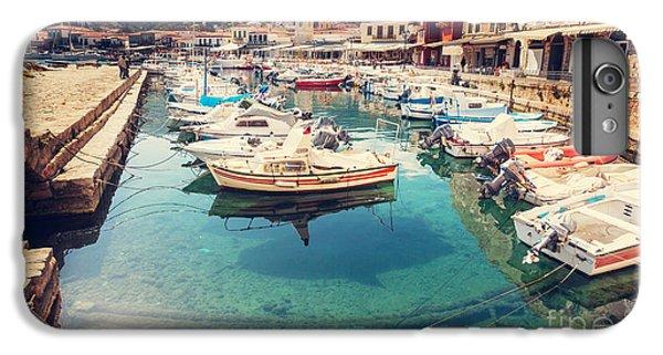 Ship iPhone 7 Plus Case - Hydra Island, Greece by Galyna Andrushko