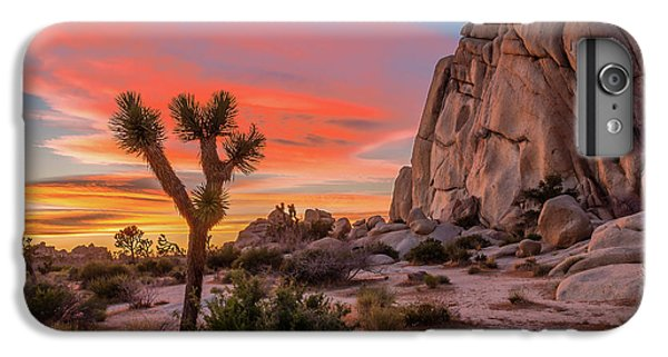 Landscapes iPhone 7 Plus Case - Joshua Tree Sunset by Peter Tellone