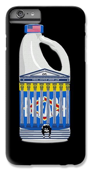 Aerosol iPhone 7 Plus Case - Judicial Breach  by Art By Art