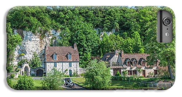 Jet Ski iPhone 7 Plus Case - Limestone Buildings, Along Seine River by Lisa S. Engelbrecht